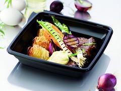 163223 - Gourmetschaal Hot 1000 ml 19,7 x 19,7 x 4,4 cm Duni