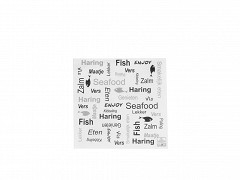 223.0020 - Servetten 33 x 33 cm Enjoy Fish