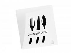 224.0020 - Hamburgerzakken 15 x 15 cm Amazing Food
