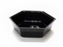 Toonbankschaal 21 cm Zwart