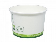 434.320 - FSC karton/PLA ijsbekers 240 ml