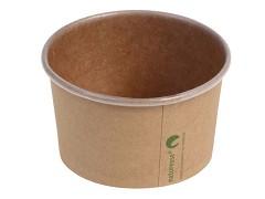 436.120 - Kraft/PLA foodcontainers 150 ml