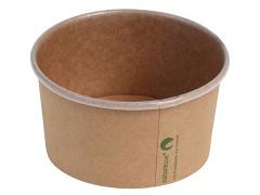 436.220 - Kraft/PLA foodcontainers 240 ml