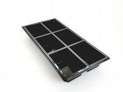 459406A - RPET 6-vaks trays 25 x 12 x 3 cm TapasSchaal