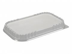 50222 - Deksels D-PET tbv Aluminium bakken 2180 ml Ready2cook