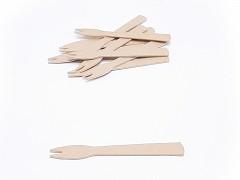 527.1053 - Papieren frietvorkjes 9 cm (2-tand)