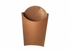 845.820 - FSC kraft/PLA scoop cups 9 x 13,2 x 13 cm Medium