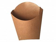 845.920 -FSC kraft/PLA scoop cups 8,7 x 13,3 x 17 cm Large