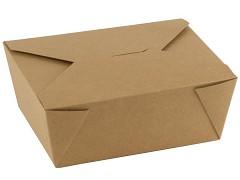 846.720 - FSC kraft/PLA take away boxen 1300 ml