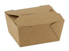 847.320 - FSC kraft/PLA take away boxen 750 ml