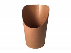 847.520 - FSC kraft/PLA scoop cups 6 Ø x 11,8 cm