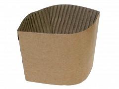 866.120 - Kraft sleeves tbv Koffiebekers 360 ml