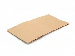 Papieren blokbodemzakken 18 + 11 x 35,5 cm