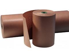 2027 - Gestreept kraftpapier op rol 60 cm