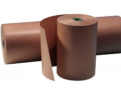 2022 - Gestreept kraftpapier op rol 70 cm