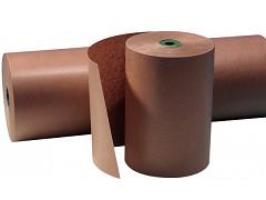 B16989 - Gestreept kraftpapier op rol 100 cm
