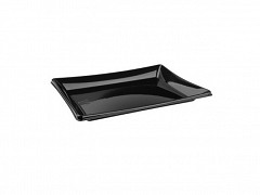 BLA91216 - RPET trays 16 x 12 x 1,3 cm Pagoda platter