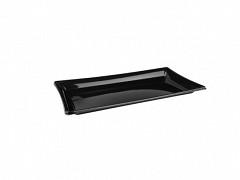 BLA91222 - RPET trays 22 x 12 x 1,3 cm Pagoda platter