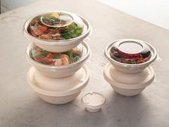 PUL12016 - Bagasse Buddha bowls 500 ml