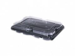 COM9357G-25 - Rectangular Platter Incl Deksel 35 x 24 x 6 cm 7-vaks