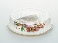 PUL2004 - Ronde 3 vaks suikerriet borden ø 26 cm