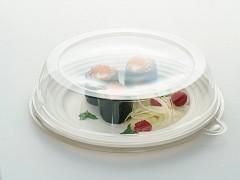 DOM57896 - Deksels R-pet tbv Ronde suikerriet borden ø 23 cm