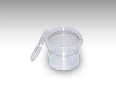 Deksel tbv Verzegelbare cups 365 ml glashelder