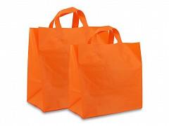 F0278 - Plastic draagtassen 21 x 19 cm
