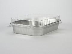 G1008 - Deksels D-PET tbv Aluminium bakken 580 & 725 ml Ready2cook