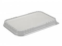 G1016 - Deksels A-PET tbv Aluminium bakken 1920 ml Ready2cook