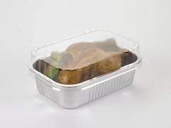 G1018 - Deksels D-PET tbv Aluminium bakken 750, 1025 & 1545 ml Ready2cook