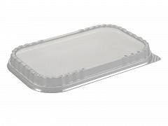 G1022 - Deksels D-PET tbv Aluminium bakken 1400 ml Ready2cook