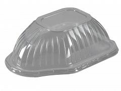 G1026 - Deksels OPS tbv Aluminium KIP bakken 1180 ml Ready2cook
