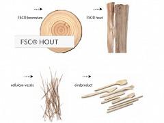 889.120 - FSC houten bakvormen 150 ml
