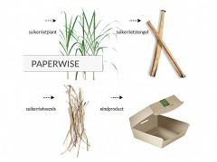 440.020 - Paperwise / PLA vensterzakken 100 + 60 x 280 mm