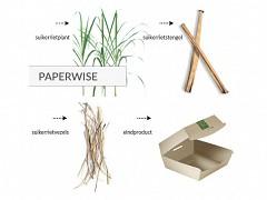 440.120 - Paperwise/PLA vensterzakken 140 + 60 x 230 mm
