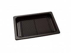 P166115 - APET trays + deksels 16,6 x 11,5 x 4,5 cm SushiTray