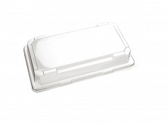 P17191 - APET trays + deksels 17,1 x 9,1 x 4,5 cm SushiTray