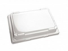 P185129 - APET trays + deksels 18,5 x 12,9 x 4,5 cm SushiTray