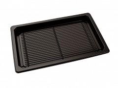 P215135 - APET trays + deksels 21, 5 x 13,5 x 4,5 cm SushiTray