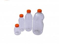 PFDEKSW - Witte doppen tbv PET flessen 125, 250, 500, 1000 & 2000 ml