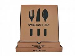 224.0013 - Pizzadoos 26 x 26 x 3 cm Amazing Food