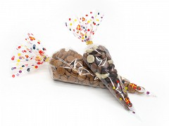 3289 - Puntzakken 0,5 pond Sinterklaas