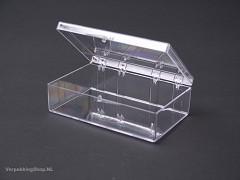 TD145 - Transparant doosje 3,2 x 3,2 x 1,91 cm
