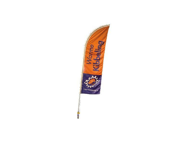 0131020 - Beachflag Warme Kibbeling