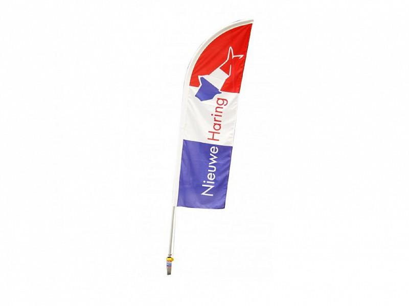 0131002 - Beachflag Nieuwe Haring
