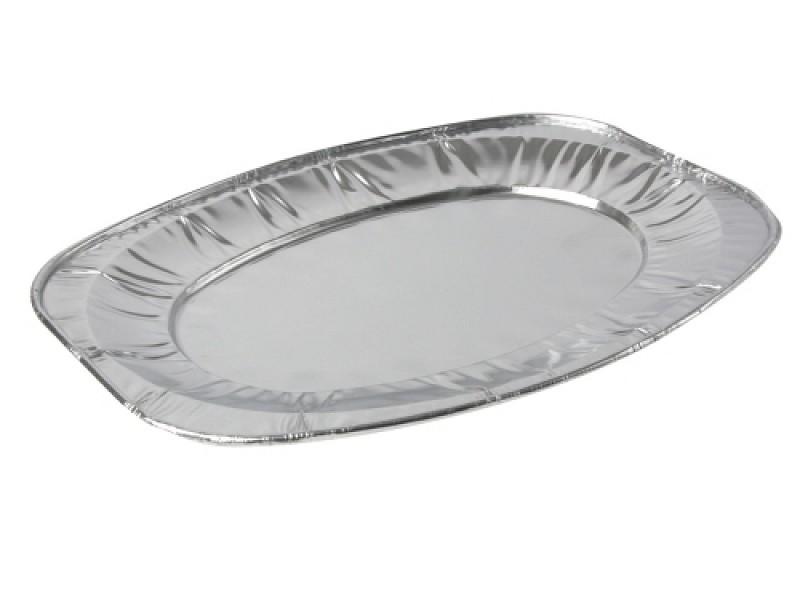 10015 - Aluminium cateringschalen 45 x 26,5 x 3 cm