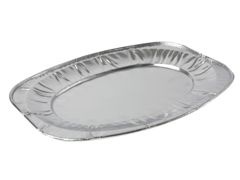 10016 - Aluminium cateringschalen 55 x 36 x 2,5 cm