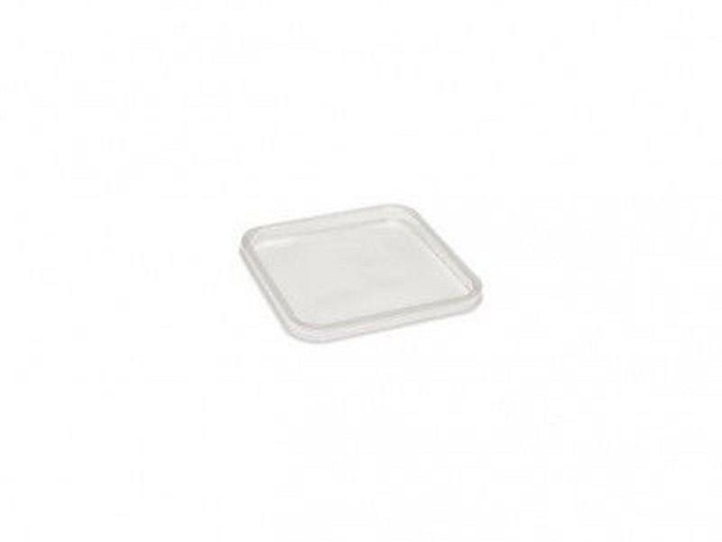 0333 - Deksels A-PET tbv Vierkante bakken (114 serie)