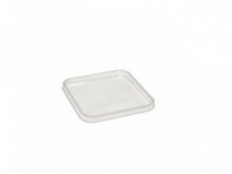 0215 - Deksels PP tbv Vierkante bakken (114 serie)